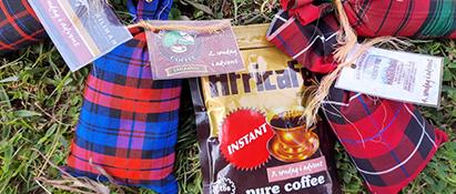 Kaffeposer fra Arusha